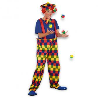"""Kostüm """"Lustiger Clown"""" 3 tlg."""