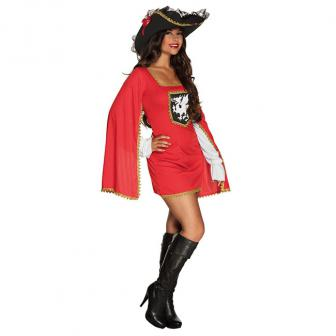 "Kostüm ""Musketier-Dame"" 2-tlg."
