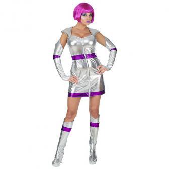 "Kostüm ""Space Girl"" 5-tlg."