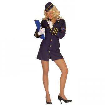 "Kostüm ""Stewardess"" 2-tlg."