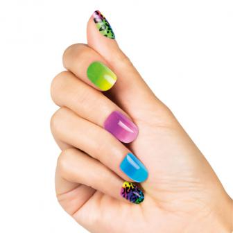 """Künstliche Fingernägel """"Fashion"""" 48-tlg."""