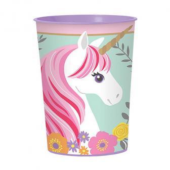 """Kunststoffbecher """"Magic Unicorn"""" 473 ml"""
