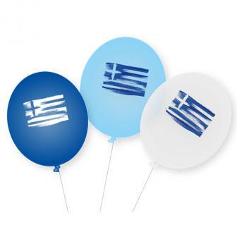 """Luftballons """"Griechenland"""" 9er Pack"""
