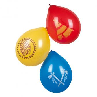 "Luftballons ""Indianerleben"" 6er Pack"