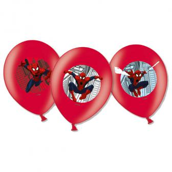 """Luftballons """"Spiderman Party"""" 6er Pack"""