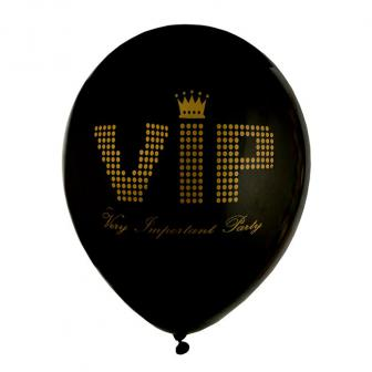 "Luftballons ""VIP - Very Important Party"" 8er Pack"