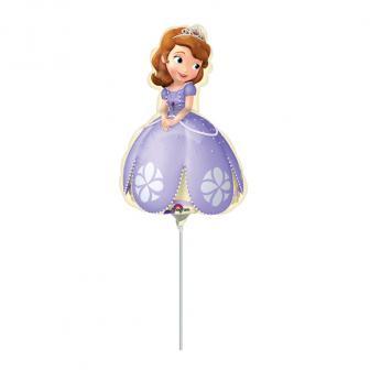 "Luftbefüllter Folienballon ""Sofia die Erste"" 30 cm"