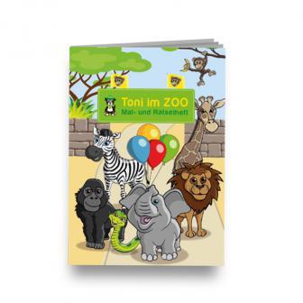 Mal- und Rätselheft Willkommen im Zoo
