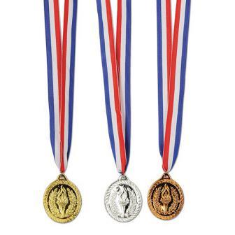 "Medaillen-Set ""Stolzer Sieger"" 3-tlg."
