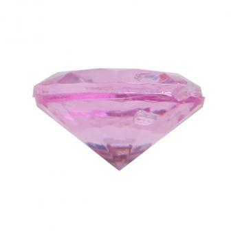 Mini Deko-Diamanten 50er Pack-pink