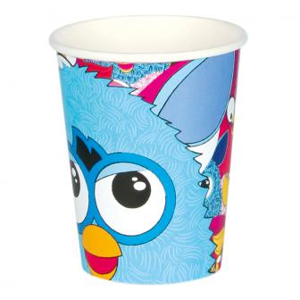 "Pappbecher ""Furby"" 8er Pack"