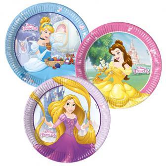 """Pappteller """"Disney - Hübsche Prinzessinnen"""" 8er Pack"""