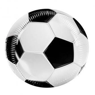 "Pappteller ""Fußball Traum"" 6er Pack"