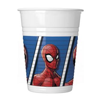 "Plastikbecher ""Spiderman"" 8er Pack"