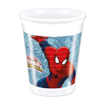 """Plastikbecher """"Spiderman - Web Warriors"""" 8er Pack"""