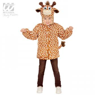"""Plüschjacke für Kinder """"Giraffe"""""""