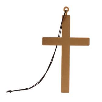 Priester-Kreuz mit Kette 21 cm
