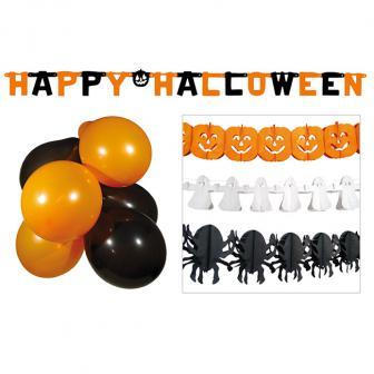 "Raumdeko-Set ""Halloween"" 14-tlg."