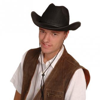Schwarzer Cowboyhut