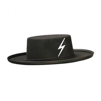 """Schwarzer Hut """"Maskierter Bandit"""""""