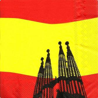 """Servietten """"Spanien"""" 20er Pack"""