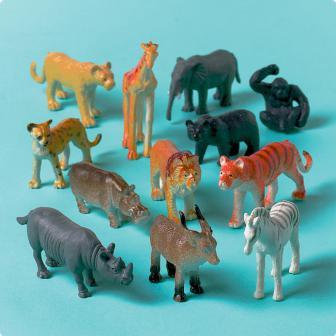 Spielzeug Dschungeltiere 12er Pack