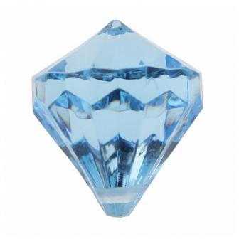 "Streuteile ""Farbenfrohe Diamanten"" 6er Pack-blau"