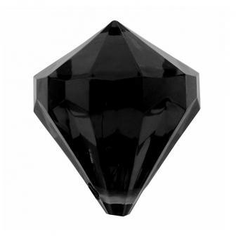 """Streuteile """"Farbenfrohe Diamanten"""" 6er Pack-schwarz"""