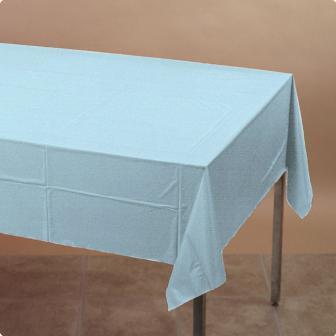 Tischdecke 137 x 274 cm-pastell-blau