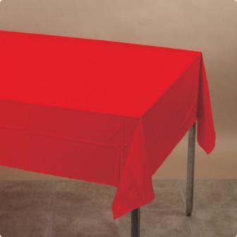 Tischdecke 137 x 274 cm-rot