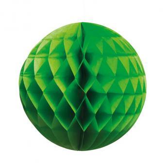 "Wabenpapier-Ball ""Farbenfroh"" 25 cm-grün"