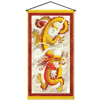 Raumdeko Chinesischer Drache Deluxe 152 cm