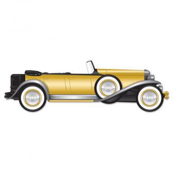 """Wanddeko Roadster """"Golden 20ies"""" 1,30 m"""