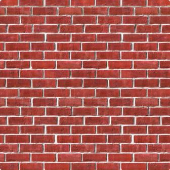 Wanddeko ziegelmauer