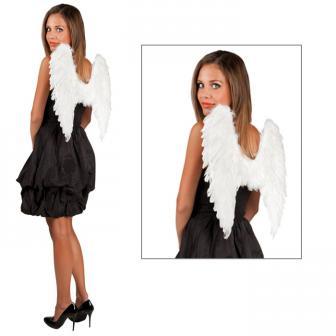 Einfarbige Flügel 50 cm-weiß