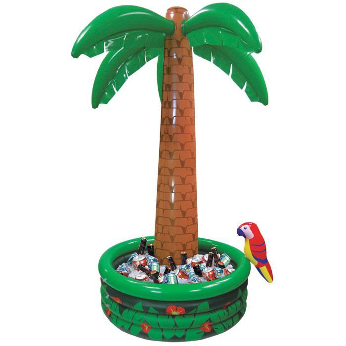 aufblasbarer getr nkek hler exotische palme 180 cm g nstig kaufen bei. Black Bedroom Furniture Sets. Home Design Ideas