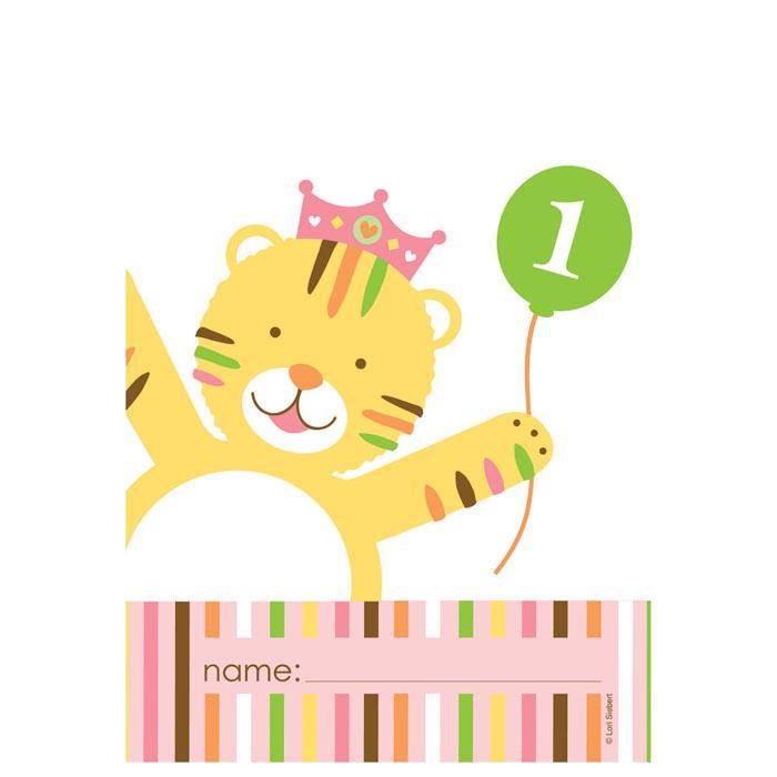 Geschenk Tutchen Tierischer 1 Geburtstag Madchen 8er Pack Gunstig