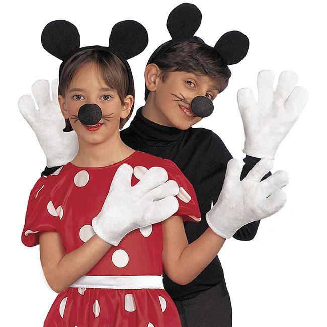 """Kostüm-Set /""""Maus/"""" 3-tlg."""