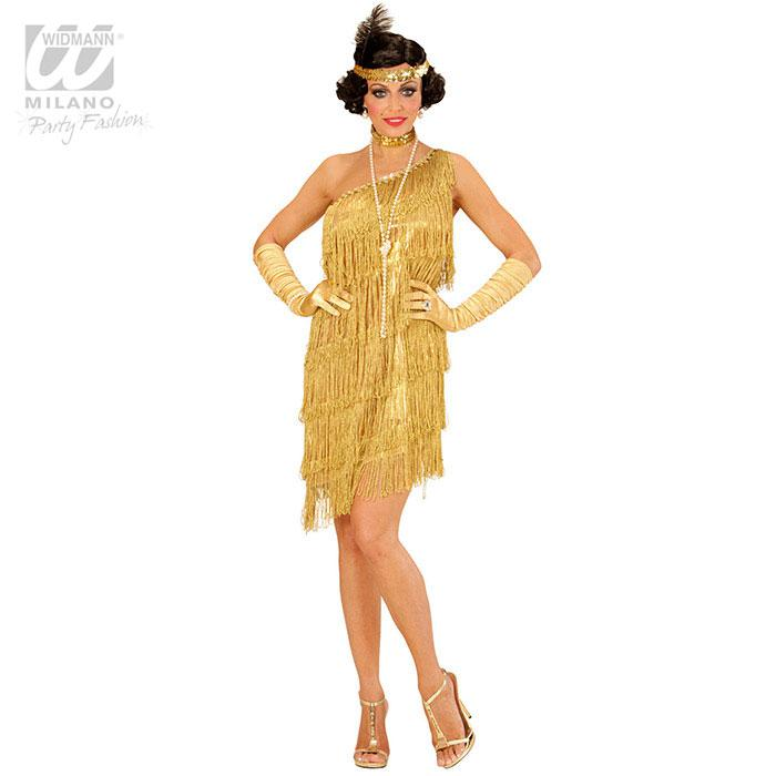 Kostum Roaring Twenties Gold 3 Tlg Gunstig Kaufen Bei Partydeko De