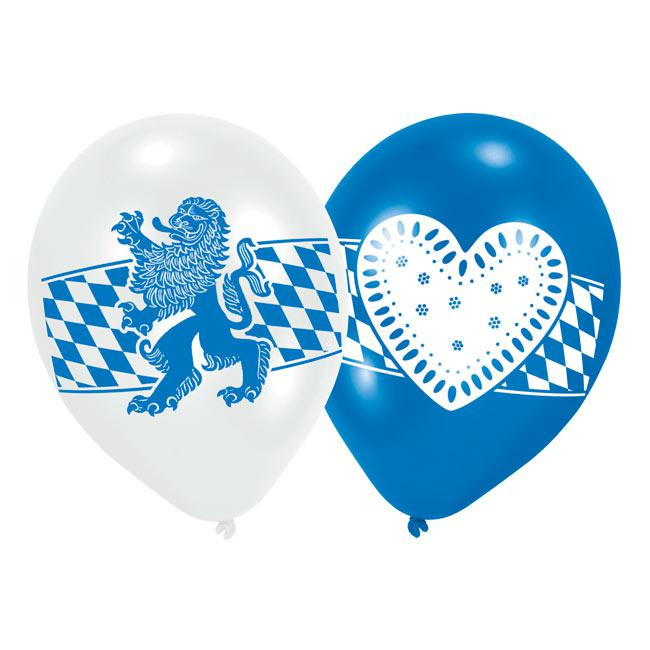 luftballons oktoberfest 6er pack g nstig kaufen bei. Black Bedroom Furniture Sets. Home Design Ideas