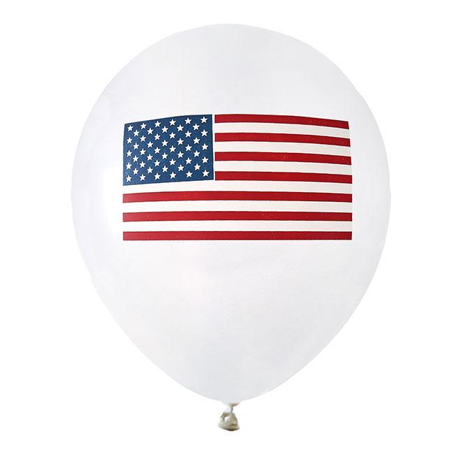 luftballons usa 8er pack g nstig kaufen bei. Black Bedroom Furniture Sets. Home Design Ideas