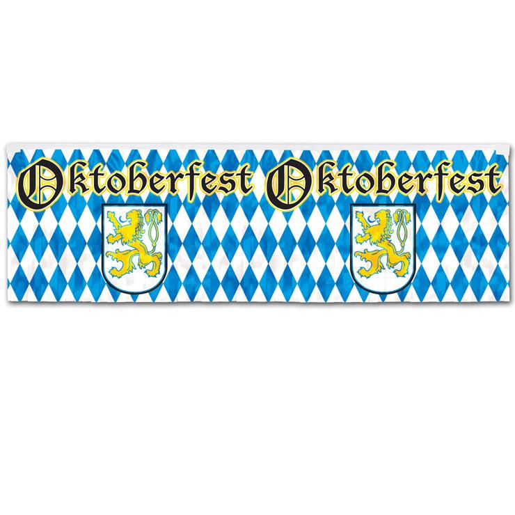 metallic banner oktoberfest 36 x 120 cm g nstig kaufen bei. Black Bedroom Furniture Sets. Home Design Ideas