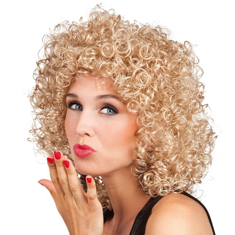 Dauerwelle Blond Lang Helle Haarfarbe 2019