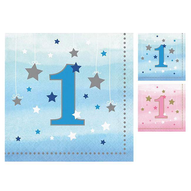 Servietten 1 Geburtstag Little Star 16er Pack Gunstig Kaufen Bei