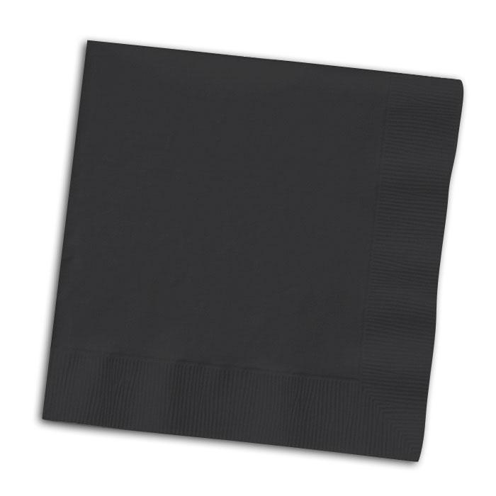 servietten 50er pack schwarz g nstig kaufen bei. Black Bedroom Furniture Sets. Home Design Ideas