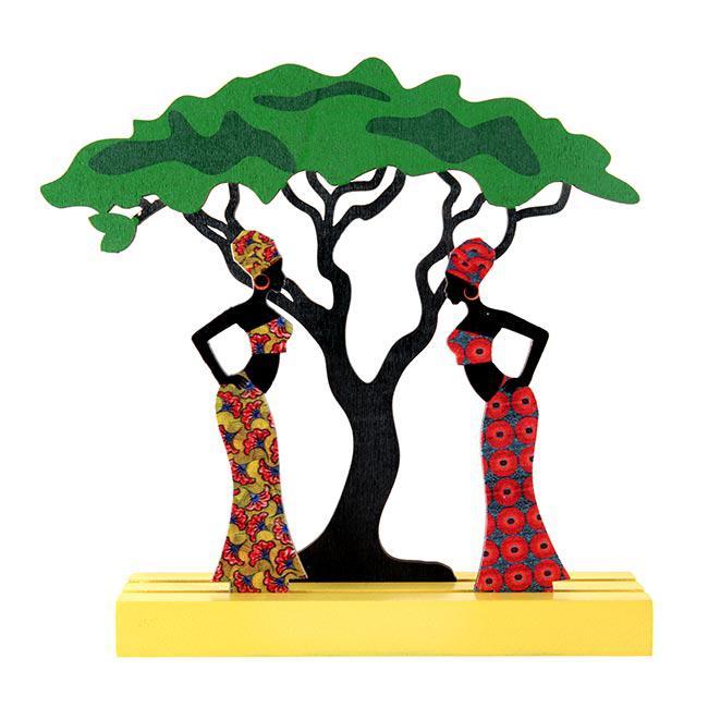 Tischdeko Aus Holz Afrika 16 5 Cm Günstig Kaufen Bei Partydeko De