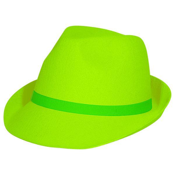 Uv Leucht Hut Trilby Gunstig Kaufen Bei Partydeko De