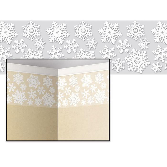 Wanddeko schneefl ckchen 9 14 x 0 61 m g nstig kaufen for Wanddeko aussenbereich