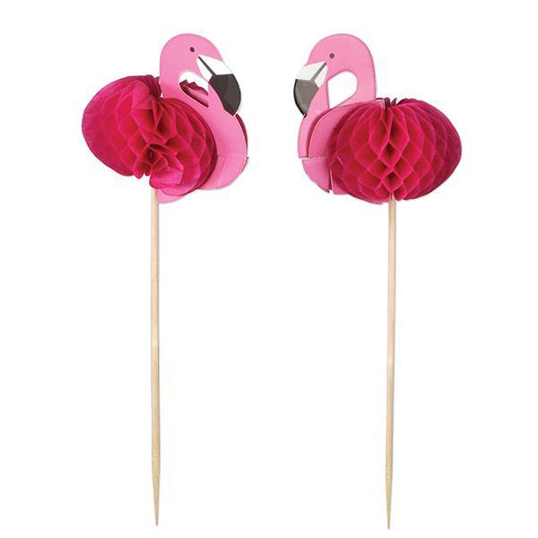 "Strohhalme /""Flamingo Paradise/"" aus Papier 12er Pack"