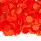 Einfarbiges Papier-Konfetti 100 gr-rot